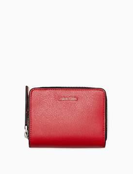 Calvin Klein square medium zip wallet