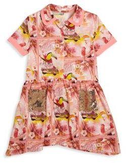 Billieblush Toddler's, Little Girl's & Girl's Printed & Sequined Dress