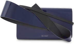 Delpozo Orchid clutch bag