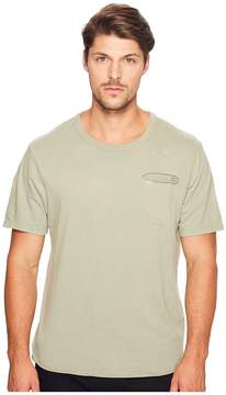 Alternative Brushed Supima Cotton w/ Sundried Wash Washed Out Tee Men's T Shirt