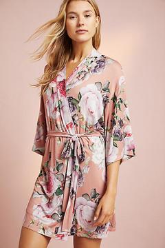 Flora Nikrooz Floral Knit Robe