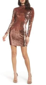 Dress the Population Katy Reversible Sequin Body-Con Dress