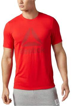 Reebok Mens Supremium 2.0 Graphic T-Shirt Red XL
