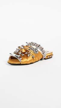 No.21 No. 21 Satin Sandals