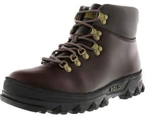 Polo Ralph Lauren Men's Hainsworth Dark Brown / High-Top Leather Boot - 10M