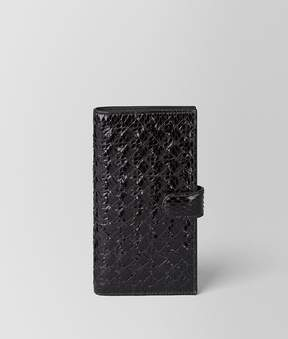 Bottega Veneta Nero Intrecciato Ayers High-Tech Case