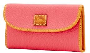 Dooney & Bourke Patterson Leather Continental Clutch Wallet - BUBBLE GUM - STYLE