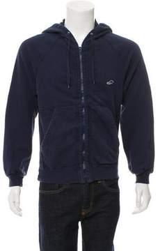 Marc Jacobs Woven Zip-Up Hoodie