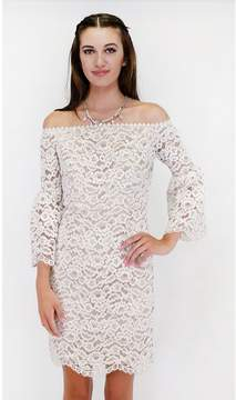 Ark & Co Sassy Southern Bell Sleeve Dress