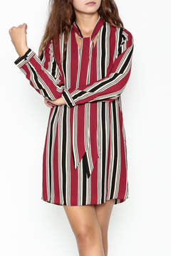 Everly Striped Shift Dress