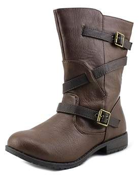 Kenneth Cole Reaction Shake N Flake 2 Youth Synthetic Brown Mid Calf Boot.