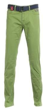 Jaggy Men's Green Cotton Pants.