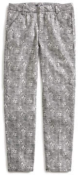 GUESS Floral Houndstooth Pants (7-16)