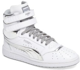 Puma Boy's Sky Ii Hi Foil Jr Sneaker