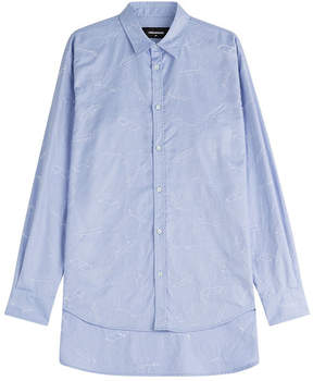 DSQUARED2 Embroidered Cotton Shirt