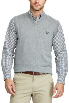 Chaps Big & Tall Regular-Fit Sweater Vest