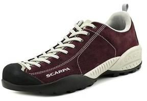 Scarpa Mojito Men Round Toe Suede Burgundy Hiking Shoe.
