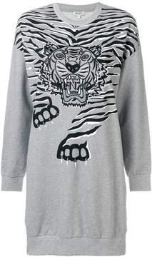 Kenzo Geo Tiger sweatshirt dress