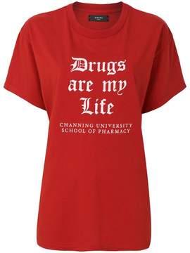 Amiri Drug Life oversized T-shirt