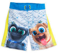 Disney Puppy Dog Pals Swim Trunks for Boys