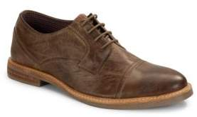 Ben Sherman Distressed Lace-Up Oxfords