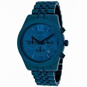 Michael Kors Lexington MK8480 Men's Blue Stainless Steel Chronograph Watch