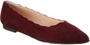 Patricia Green Suede Flat