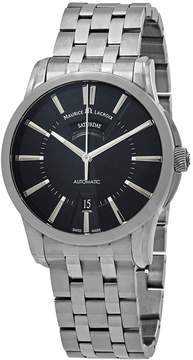 Maurice Lacroix Pontos Day Date Black Dial Men's Watch