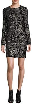 Alexia Admor Women's Patterned Cocktail Dress