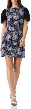 Reiss Estelle Floral Embroidered Dress
