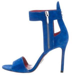Cesare Paciotti Suede Cutout Sandals
