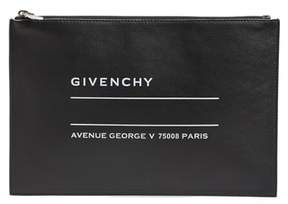 Givenchy Medium Iconic Address Lambskin Pouch