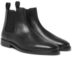 Lanvin Full-Grain Leather Chelsea Boots