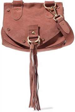 See by Chloe Suede And Leather Shoulder Bag