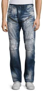 PRPS Barracuda Straight Fit Moto Jeans