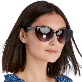 Sole Society Lor Mid Size Cat Eye Sunglasses