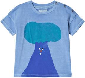 Bobo Choses Heritage Blue Tree Short Sleeve T-Shirt