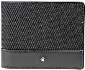 Montblanc Nightflight Bi-Folding Black Nylon Wallet