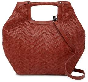 Kooba Fairfield Woven Leather Tote Bag