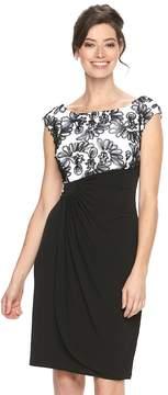 Connected Apparel Women's Soutache Sheath Dress