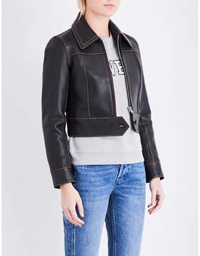 Claudie Pierlot Caramel leather jacket