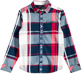 Sean John Big Boys Plaid Shirt