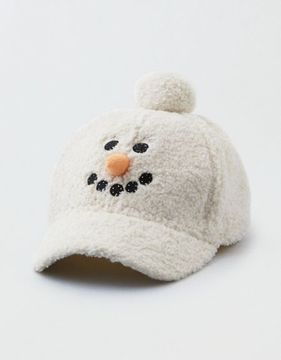 American Eagle Outfitters AE Light Up Snowman Baseball Hat