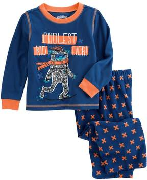 Osh Kosh Oshkosh Bgosh Boys 4-14 Abominable Snowman 2-Piece Pajama Set