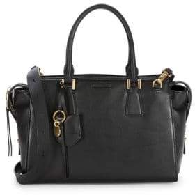 Cole Haan Square Leather Satchel