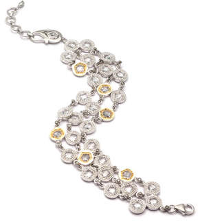Coomi Opera Crystal & Diamond 3-Row Bracelet
