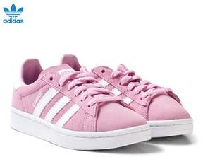 adidas Pink Kids Campus Trainers
