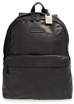 Frye Men's 'Tyler' Leather Backpack - Black
