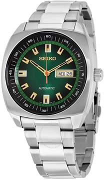 Seiko Recraft Automatic Green Dial Stainless Steel Men's Watch
