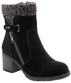 Bare Traps BareTraps Cold Weather Leather Ankle Boots-Danette